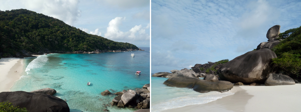 Similan Islands panorama