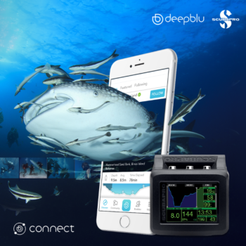 Deepblu and Scubapro collaboration